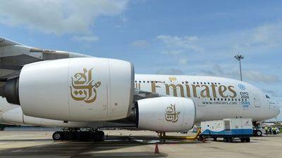 El Airbus A380 llega a Paraguay
