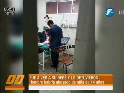 Fue a ver a su bebé al hospital y lo detuvieron por abuso en menores
