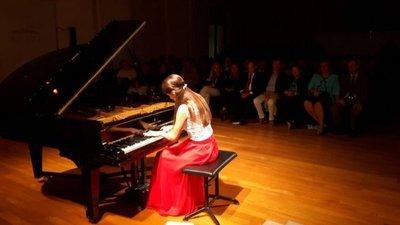 Clases gratuitas de piano con Chiara DOdorico