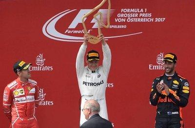 Bottas se queda con el Gran Premio de Austria
