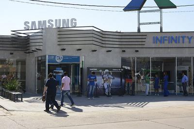 """""""Samsung Infinity"""" ofrece un espacio exclusivo para los visitantes de la feria"""