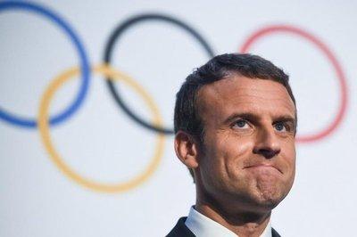 Macron reaviva juegos de París 2024