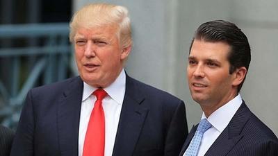 Donald Trump no sabía de la reunión de su hijo