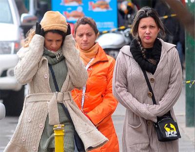 Anuncian frío polar desde el domingo