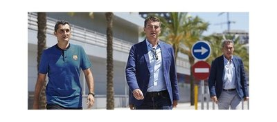 El Barcelona inicia viaje a América para serie de amistosos