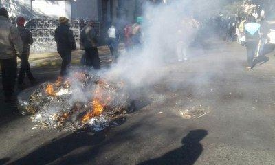 Lectores reportan caos en Asunción