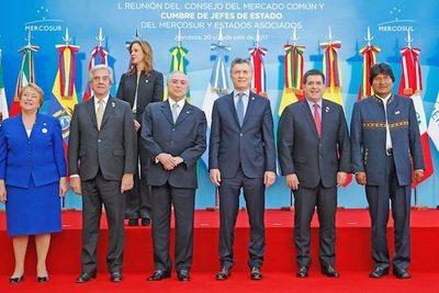El presi Cartes se reunió con Macri y Temer