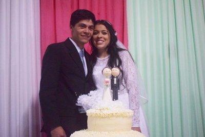 La pareja que Dios unió: Mirá cómo fue el brindis de los recién casados en la Expo