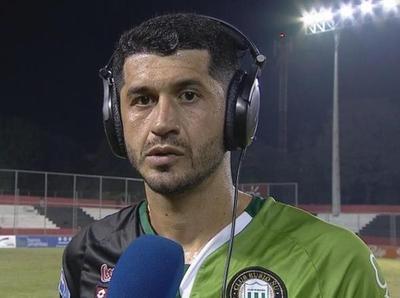 Pedro Benítez, feliz por volver a primera.