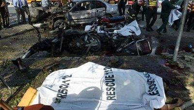 Más de 25 muertos y 40 heridos en atentado en Pakistán