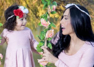 Rossana Barrios Realizó Una Sesión De Fotos Junto A Su Hija