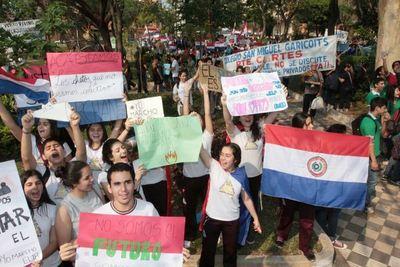 Prevén marcha nacional estudiantil para agosto