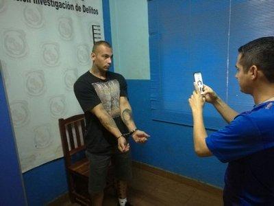 Detienen a supuesto sicario brasileño en CDE