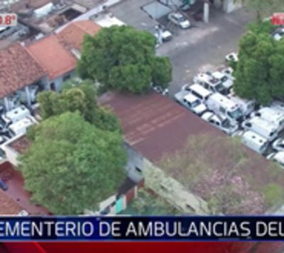 IPS cuenta con apenas 19 ambulancias y 45 esperan ser reparadas