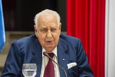 Fallece excanciller Ramírez Boettner a los 99 años