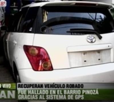 Policía recupera automóvil en dos horas gracias a GPS