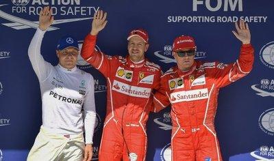 Vettel logra la pole en el Gran Premio de Hungría