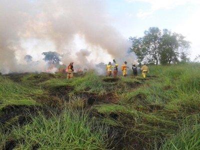 Incendio en Itapúa ya fue controlado