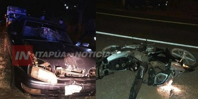 TRÁGICA NOCHE EN NATALIO, JOVEN FALLECE EN ACCIDENTE RUTERO.