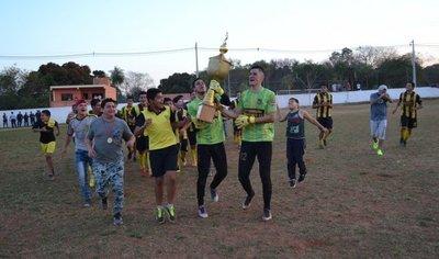 Barrio Guaraní, flamante campeón sanlorenzano