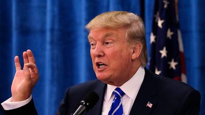 """Donald Trump afirma que su """"base"""" de votantes se amplía"""
