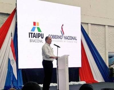 """Itaipú apoya la agricultura mecanizada: """"No es una repartija de plata a líderes campesinos"""