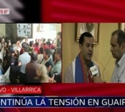 Buscan normalizar actividades en la Gobernación de Guairá