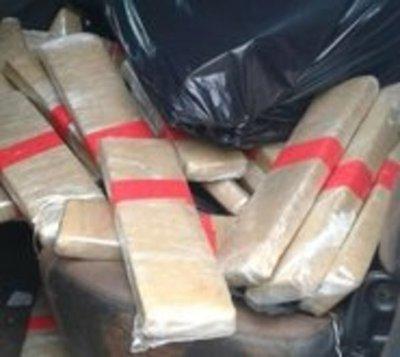 Cae a brasileño con más de 800 kilos de marihuana