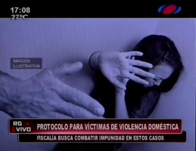 Establecen protocolo para víctimas de violencia doméstica