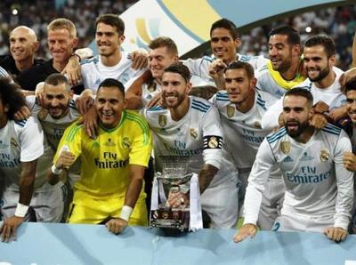 Real Madrid se corona con la Supercopa