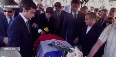 #Tbt: Marito encabezó el sepelio de Stroessner