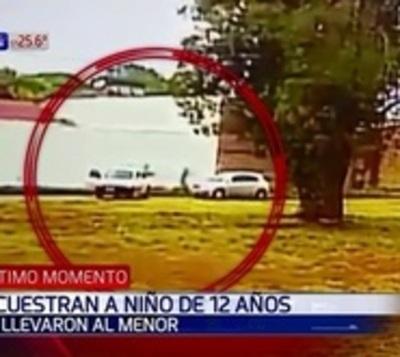Así se llevaron al menor de 12 años en Ponta Porã