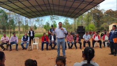 Tras protestas, MOPC asfaltará 30 km en Araújo Cué
