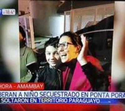 El pequeño Pedrinho fue liberado y se encuentra a salvo en su casa