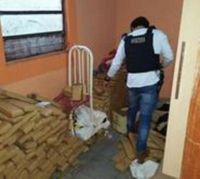 Incautan más de 700 kilos de marihuana en Pedro Juan Caballero