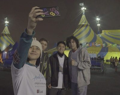 Niños de la fundación Rocio Cabriza conocieron el Cirque Du Soleil
