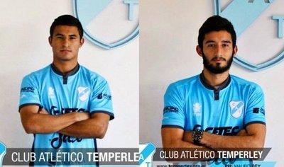 Rodi Ferreira y Mathías Villasanti, nuevos refuerzos del Temperley