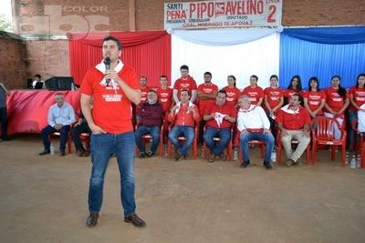 Opositores discriminan a los colorados, dice Peña