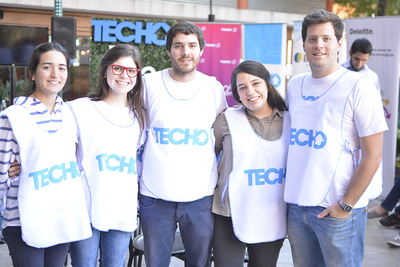 """Presentan campaña institucional 2017  y colecta anual """"5mil por un Techo"""""""
