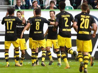 Borussia ganó en su debut de la Bundesliga
