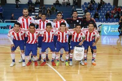 Paraguay tiene descollante gestión y goleó a Bolivia en Futsal