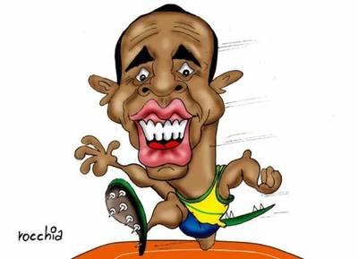 Bolt se quedó con el bronce en su última carrera de 100 metros