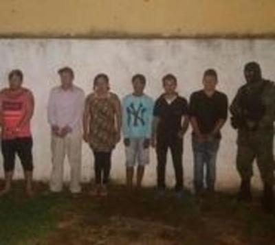 Detienen a seis sospechosos de participar en secuestro de niño