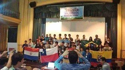 Caaguaceño gana bronce en la Olimpiada de Matemáticas en Ecuador