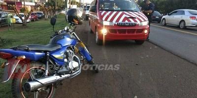 CHIPERO SUFRE FRACTURAS Y TRAUMATISMO DE CRÁNEO TRAS ACCIDENTE.