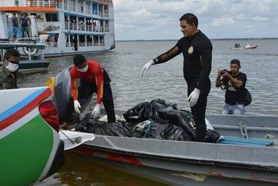 Brasil: suman 44 muertos en dos naufragios