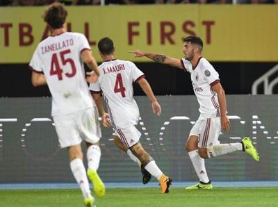 El Rossoneri avanzó a la fase de grupos