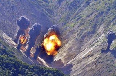 EEUU hace una demostración de fuerza   frente a Norcorea