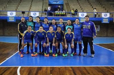 El lunes es la primera final de Futsal Femenino entre Recoleta y Colonial