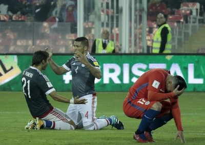 Paraguay goleó a Chile y sigue apuntando a Rusia